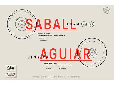 Saball x Aguiar Ancestry Poster