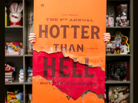 Hotter Than Hell Poster