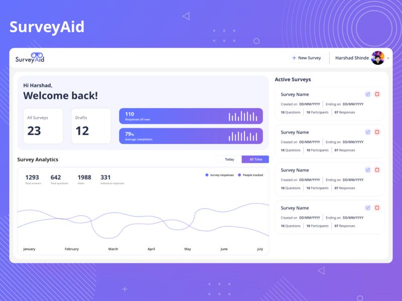 SurveyAid Web design