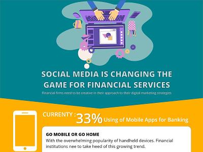 Social Media graphic design ux web app design mobile icon vector illustration branding