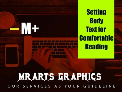 Blog typography animation mobile design vector illustration icon branding
