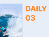 Landing Page | Daily 03