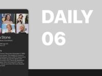 user profile | daily ui