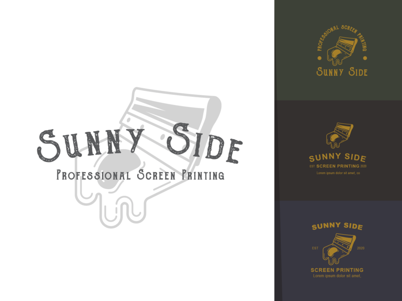 Sunny Side Screen Priting