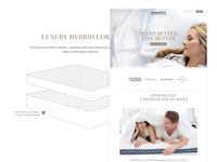 Winkbeds Website - look and feel #1