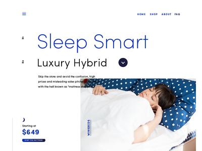 Winkbeds Website - look and feel #3