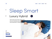 Winkbeds Website - look and feel #3