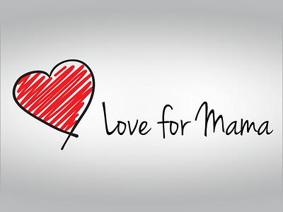 Love for Mama design branding logo