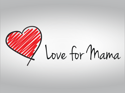 Love for Mama design branding logo