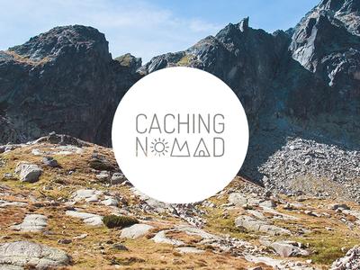 Caching Nomad branding geocaching caching logo