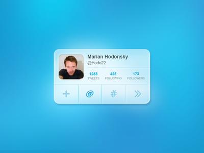 Twitter UI twitter ui interface social media rebound