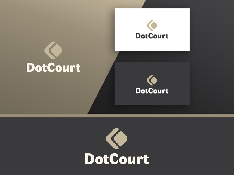 DotCourt Website Logo Design law attorney  law attorney court design creative logo branding geometric minimalist minimal logo business logo corporate logo website logo logo designs logo designer logo design logo