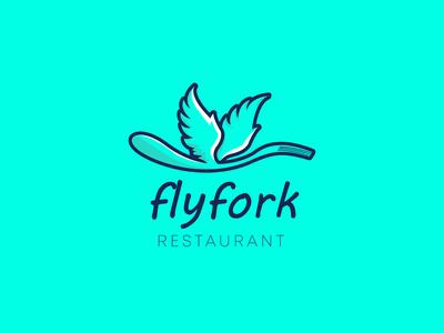 Flyfork Restaurant Logo
