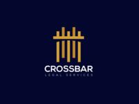 Crossbar - Law firm logo concept