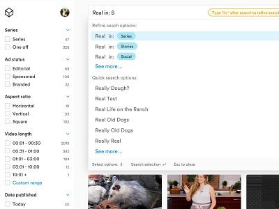 search ux ui search design system circular