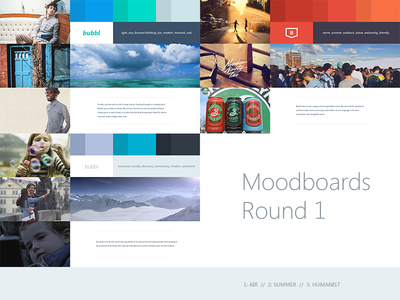 Moodboard Project app ios7 branding mood board minimal logo identity web flat