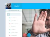 Skype Redesign - Metro