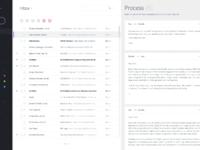 Mail client design