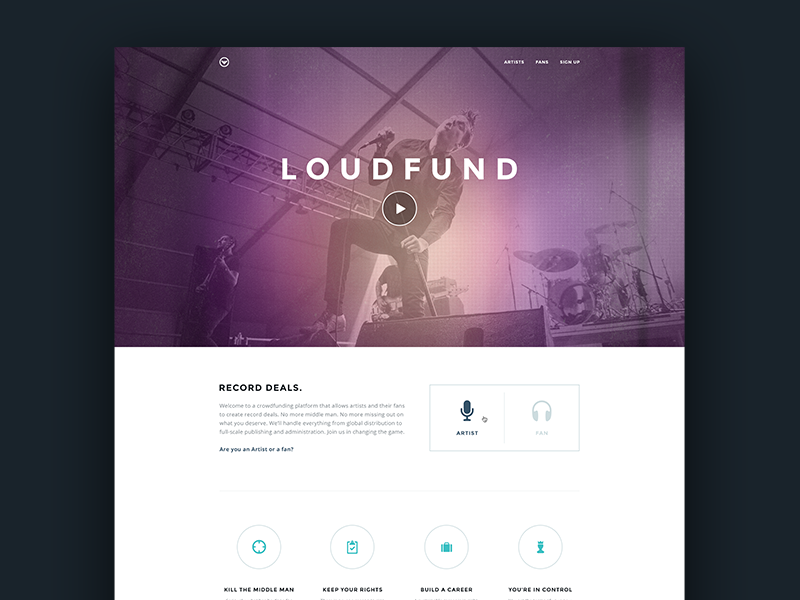 Loudfund-Concept