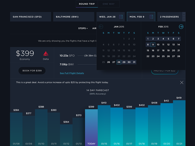 FLYR Web App user interface data visualization graphs flyr travel web design app visual futuristic dark ui uiux layout