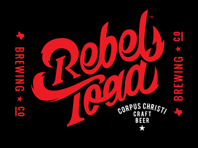 Rebel Toad Brewing Co Branding