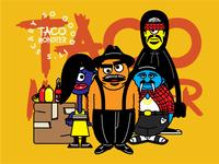 Taco Monster Branding