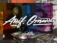 Arif Omari Final Branding Concept
