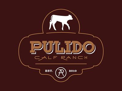 Pulido Calf Ranch Final branding logo wordmark