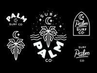 Palm Surf Co Branding
