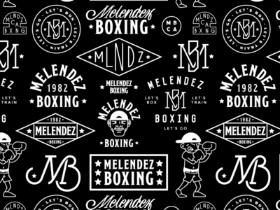 Melendez Boxing Branding boxing branding