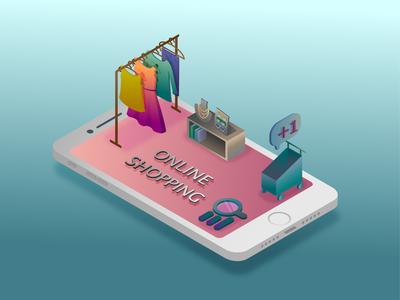 Isometric online shopping