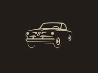 Classic Car Monochrome