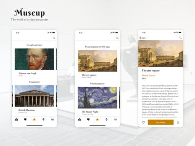 Museum guide app