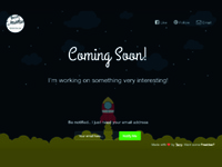 Coming Soon Landing Page - tcstevenson