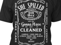 Drake Daniels - Lyric T-shirt Design