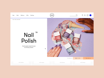 Nails Inc - Category Page