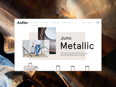 Antler - Category Page Responsive Animation