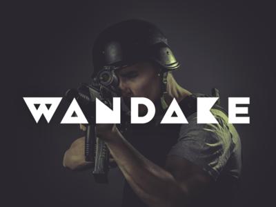 Wandake Game Studios Typeface and Logo