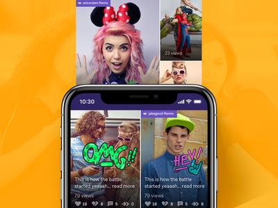Lomics app
