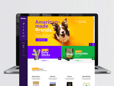 PetShop - eCommerce identity petshop ecommerce cat dog design web interface ux ui pet animal