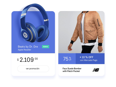 E-commerce Product Screen nice pago mercado web design fashion e-commerce blue layout ux ui