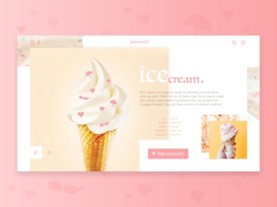Ice Cream - Web Concept