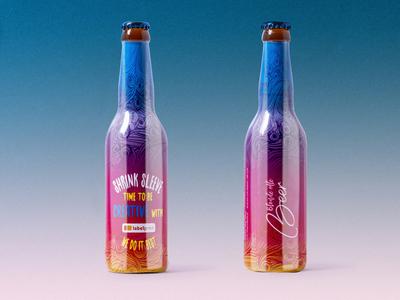 Beer for Shrink sleeve technology promotion