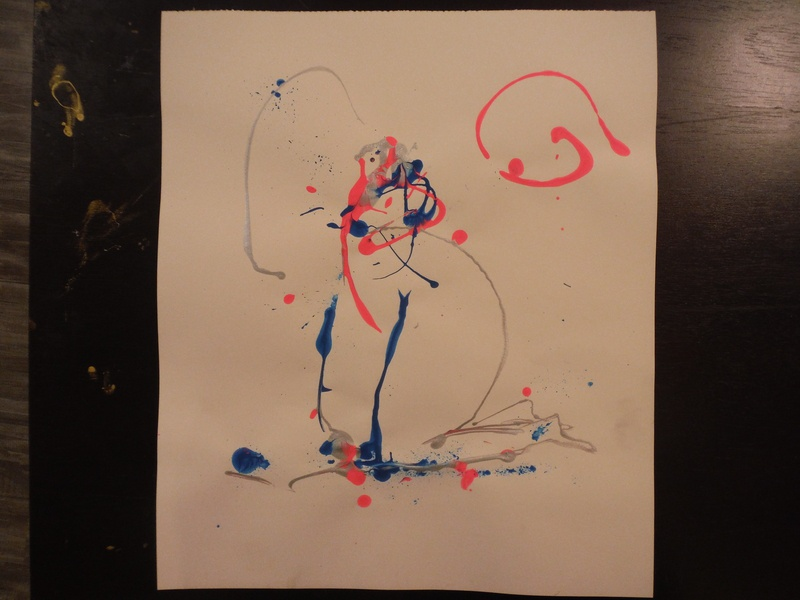 Untitled Figure drawing illustration abstract