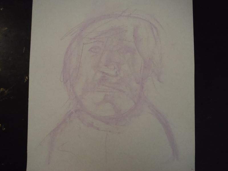 Untitled Poet drawing illustration