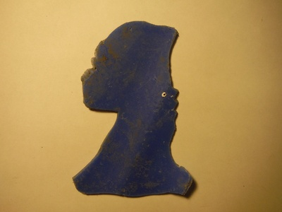 Untitled Blue Bust