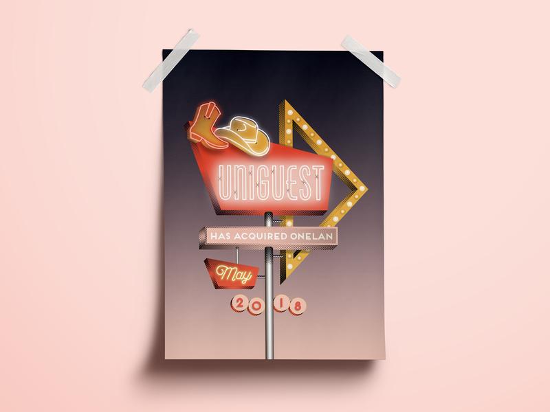 Retro Neon Sign by Brandie Kay | Dribbble | Dribbble