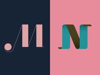 M • N