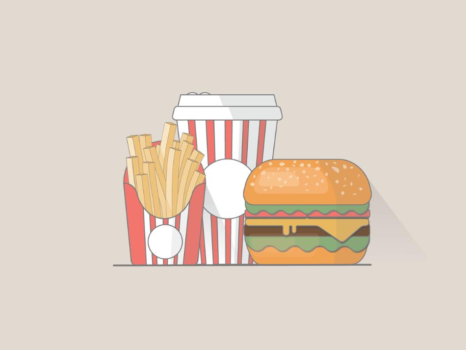 Fast food logo brand animal character illustrate cover loveislove couple design book art comic book covet art cartoon comic art branding character design vector cute illustration challenge character creation illustration