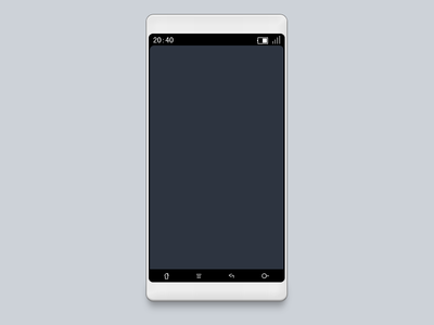 phone template by Dadaa-L. - Dribbble